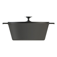 <h3>N.A.C.</h3> Cast iron cookware for Morsø. The design is simple with soft transitions to the handles and knobs. The oak handles give a nice contrast to the enamelled cast iron. The cocotte lids can also be used as pans. Cast iron is great for slow food :-) <br/>