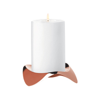 <h3>Papilio Solo</h3> A candle holder for Stelton. Part of the Papilio family and holds block candles in all sizes.